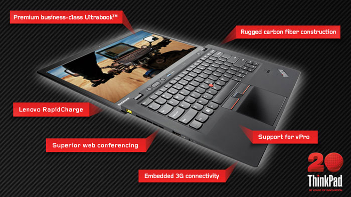 Lenovo ThinkPad X1 Carbon performanse