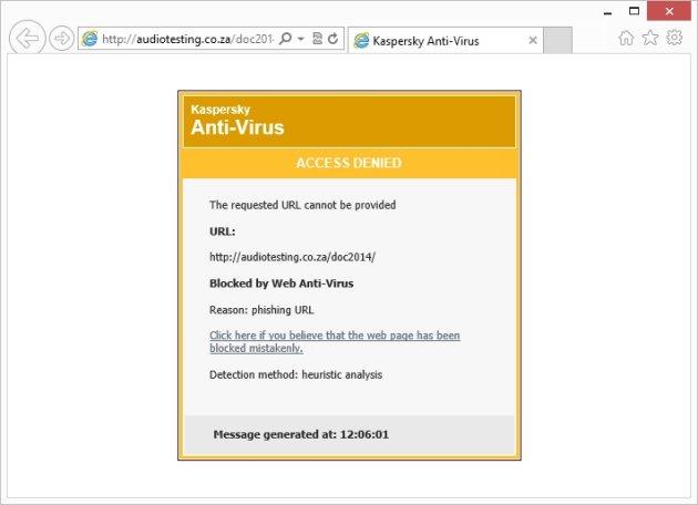 Heurističko otkrivanje phishinga