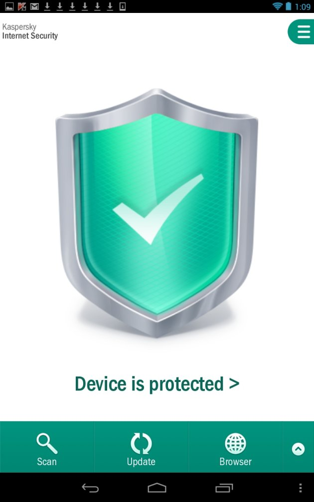 Kaspersky Internet Security 2014 Android zaštita