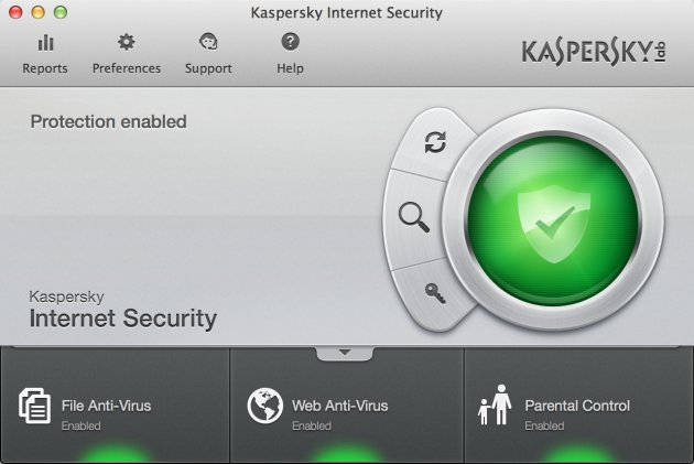 Kaspersky Kaspersky Internet Security 2014 Mac zaštita