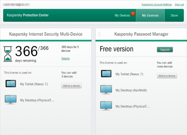 Kaspersky Internet Security 2014 moje licence
