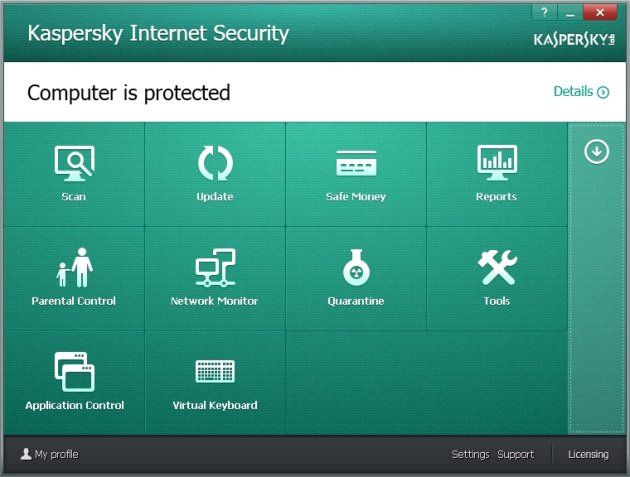 Kaspersky Internet Security 2014 sve komponente