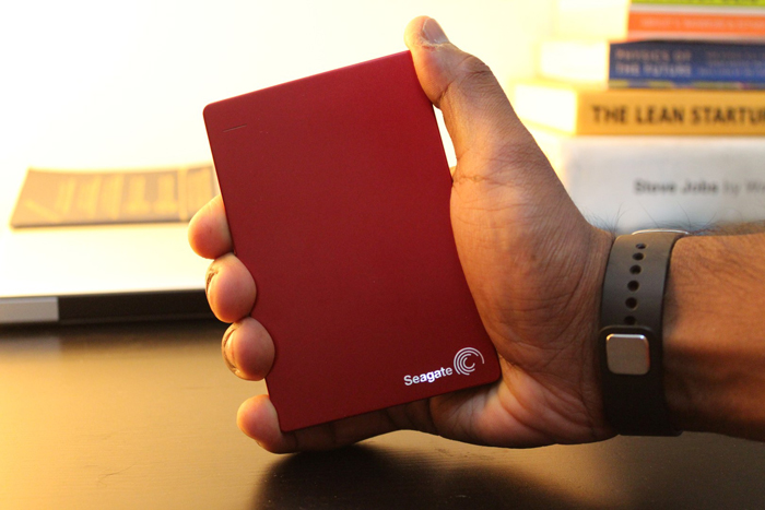Seagate Backup Plus Slim - naslovna