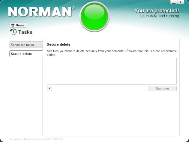 Norman Security Suite 10 Pro sigurnosno brisanje