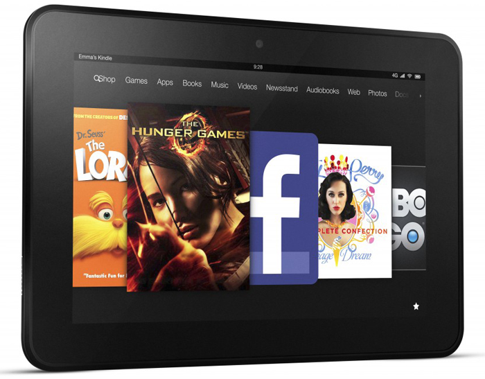 Kindle Fire HD dizajn