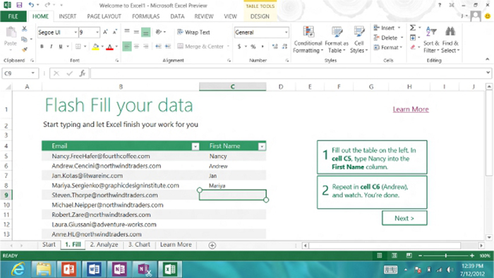 Microsoft Office 2013 Excel