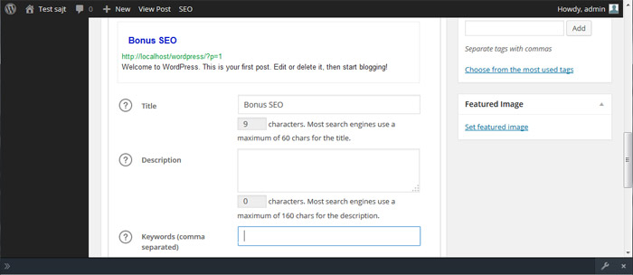 WordPress plugin all in one SEO pack