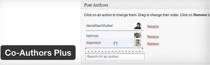WordPress plugin coautors plus