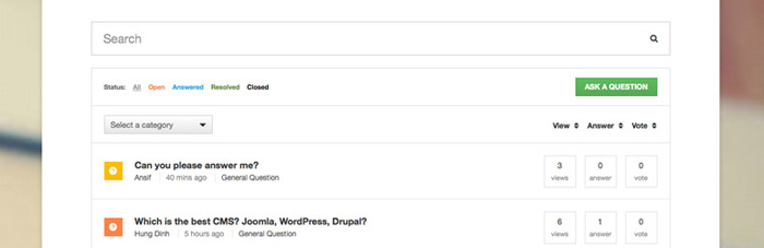 WordPress Plugin - DW Pitanja i odgovori