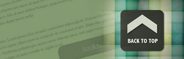 WordPress Plugin Smooth Scroll Up