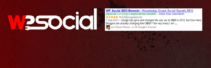 WordPress Plugin Social SEO booster
